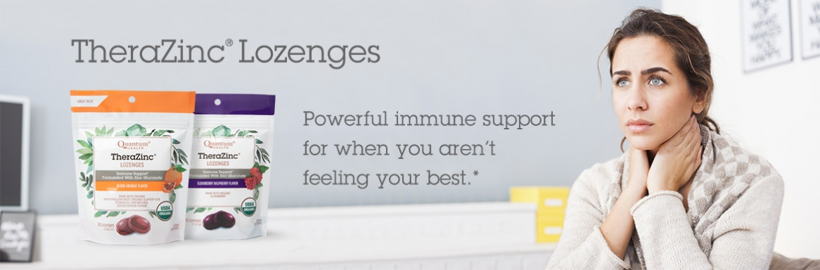 TheraZinc Lozenges - Powerful immune support for when you aren't feeling your best.