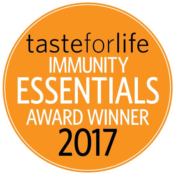 Taste For Life Immunity Essentials Award Winner 2017