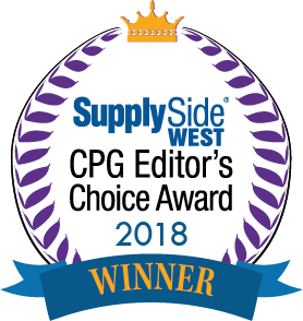 Supply Side West CPG Editor's Choice Award of 2018