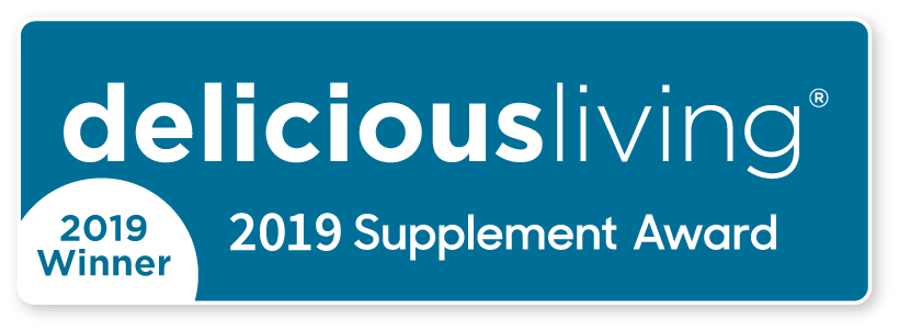 Delicious Living 2019 Supplement Award