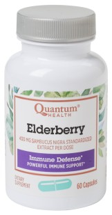 Elderberry Immune Defense Made from Elderberry Fruit