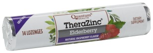 Zinc Elderberry Lozenges in a Convenient Travel Roll