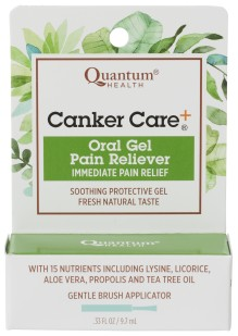 Fast, soothing, herbal canker sore pain relief.