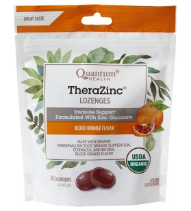 USDA Organic Lozenges Deliver Zinc for Immune Support, Tasty