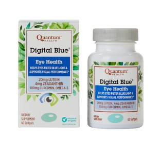 Image: Digital blue box and bottle.