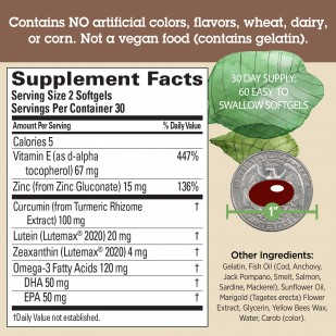 Image: Supplement facts panel.