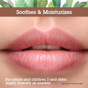 A woman's lips.