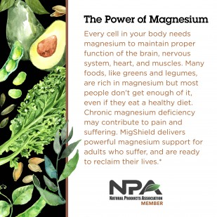 Every cell in your body needs magnesium to maintain health.